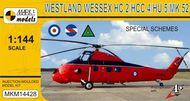 Mark 1 Models  1/144 Westland Wessex 'Special Schemes' HC.2/HCC.4/HU.5/Mk.52 - Pre-Order Item MKM14428
