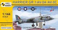 BAe Harrier GR.1A/AV-8A/C 'First Generation' #MKM14486