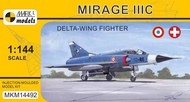Dassault Mirage IIIC 'Delta-wing Fighter' (French & Swiss AF) #MKM14492