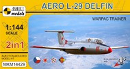 Mark 1 Models  1/144 Aero L-29 Delfin WarPac Trainer Aircraft (2 Kits) (D)<!-- _Disc_ --> MKX14429