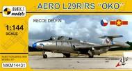 Mark 1 Models  1/144 Aero L-29R/RS OKO Recce Delfin Aircraft (D)<!-- _Disc_ --> MKX14431