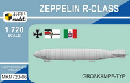 Mark 1 Models  1/720 Zeppelin R-class 'Grosskampf-Typ': LZ83, LZ11 MKX720-06