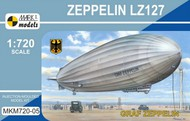 Mark I Models  1/720 Zeppelin LZ127 Graf Zeppelin German Airship MKX72005