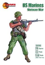 Mars Models  1/32 Vietnam War US Marines (15) MAF32005