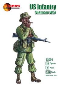 Mars Models  1/32 Vietnam War US Infantry (15) MAF32006