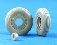 A6M Zero weighted resin wheels (TAM) #MST32001