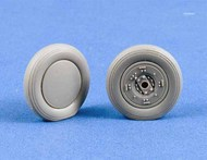Douglas SBD-1/SBD-2/SBD-3/SBD-4 Dauntless weighted resin wheels #MST32003