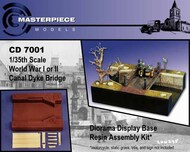 MasterPiece Models  1/35 Canal Dyke and bridge MASCD7001