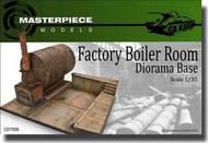 MasterPiece Models  1/35 Factory Boiler Room Diorama Base MASCD7009