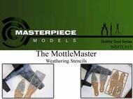 MasterPiece Models   N/A Mottle Master Weathering Stencil MASMMTL015