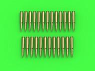 Master Models  1/16 Browning .50 caliber (12.7mm) - cartridges (25pcs) GM-16-002
