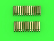 Master Models  1/16 M1919 Browning .30 caliber (7.62mm) - empty shells (25pcs) GM-16-003