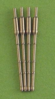 Master Models  1/700 130mm AK-130 barrels for Russian Sovremenny, MST700018