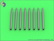 Master Models  1/350 IJN 12.7cm/50 (5in) 3rd Year Type barrels - f SM35084