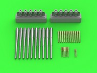 Master Models  1/350 SMS Seydlitz armament - 280mm (10pcs), 150mm (12pcs), 88mm (8pcs)  barrels with resin mounts  (designed to be used with  Hobby Boss kits) - Pre-Order Item MSM35106
