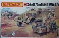 Matchbox  1/76 Sd.Kfz.11/7  w/ 5cm Pak 38 and BMW R.75 MMX40171
