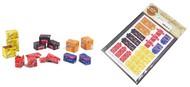 Cardboard Boxes Soda, Printed Paper (34) (Coca-Cola, Coca-Cola Zero, Pepsi, Schweppes, Fanta) #MAT35073