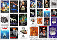 Movie Posters 1970s & 1980s, Printed Paper (24) #MAT35104