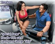 Masterbox Models  1/24 Sandy Passenger & George Trucker Sitting MTB24062