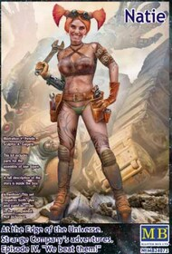 Masterbox Models  1/24 At the Edge of the Universe: Natie Gladiatorial Robot Engineer Assistant w/Wrench & Toolbelt MTB24072