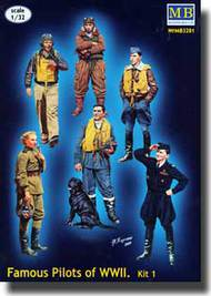Masterbox Models  1/32 Famous Pilots Of WWII MTB3201
