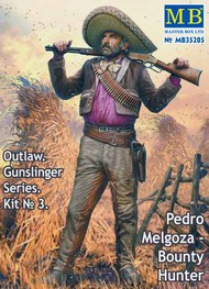 Outlaw Gunslinger: Pedro Melgoza Bounty Hunter #MTB35205