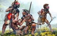 Protective Circle Indians XVIII Century (4) #MTB35209