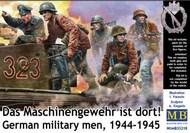 WWII German Military Men 1944-1945 (5) (New Tool) #MTB35218
