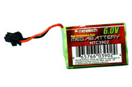 Megatech Products   N/A 6V NiMH Rechargeable High Performance Battery Pack (D)<!-- _Disc_ --> MEG3902