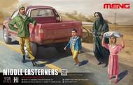 MENG Models  1/35 Middle Eastern Citizens Figure Set (4) (D)<!-- _Disc_ --> MGKHS01