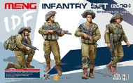 MENG Models  1/35 IDF Infantry (2000-) Figure Set (4) MGKHS04
