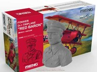 MENG Models  1/32 Fokker Dr.I Triplane flown by Manfred von Richthofen, the .Red Baron' WITH 1/10th RESIN BUST - LIMITED MGKQS002S