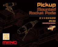 MENG Models  1/35 Pickup Mtd Rocket Pods MGKSPS34