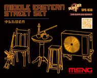MENG Models  1/35 Middle Eastern Street Set MGKSPS36