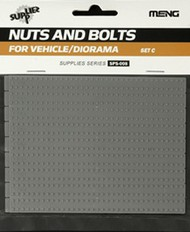 MENG Models  1/35 Nuts & Socket Bolts Set C Plastic MGKSPS08