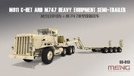 MENG Models  1/35 M911 C-HET Heavy Tractor & M747 Heavy Equipment Semi-Trailer (New Tool) (FEB) MGKSS13