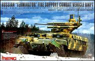 MENG Models  1/35 Russian Terminator Fire Support Combat Vehicle BMPT MGKTS10
