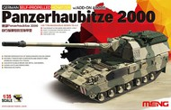 MENG Models  1/35 German Panzerhaubitze 2000 Tank w/Self-Propelled Howitzer Gun & Add-On Armor MGKTS19