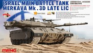 MENG Models  1/35 Israel Merkava Mk 3D Late LIC Main Battle Tank DAMAGED BOX MGKTS25DAM