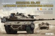 MENG Models  1/35 Merkava Mk 4M Israeli Main Battle Tank w/Trophy Active Protection System (New Tool) (FEB) MGKTS36