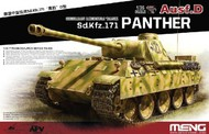 MENG Models  1/35 Sd.Kfz 171 Panther Ausf D German Medium Tank (New Tool) MGKTS38