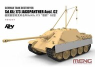 MENG Models  1/35 SdKfz 173 Jagdpanther Ausf G2 German Tank Destroyer MGKTS47