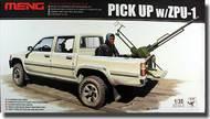 MENG Models  1/35 Dual Cab Toyota Hi-Lux Pickup Truck with ZPU-1 Anti-Aircraft Gun MGKVS01