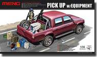 MENG Models  1/35 Dual Cab Toyota Hi-Lux Pickup Truck with M82A1 rifle and M240B Gun MGKVS02