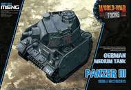 MENG Models  Unknown German Medium Tank Panzer III MGKWT05