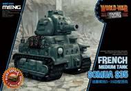 MENG Models  Unknown French tank Somua S-35 MGKWT09