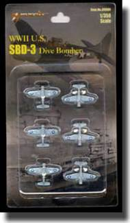 Merit Production  1/350 SBD-3 Dauntless Dive Bombers MIL89004