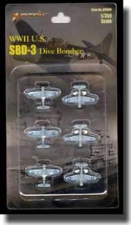 Merit International  1/350 SBD-3 Dauntless Dive Bombers MIL89004