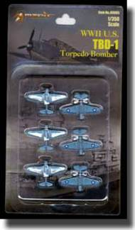 Merit Production  1/350 TBD-1 Torpedo Bombers MIL89005