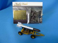 Tiny Tim Rocket with trailer #MDMDR4832